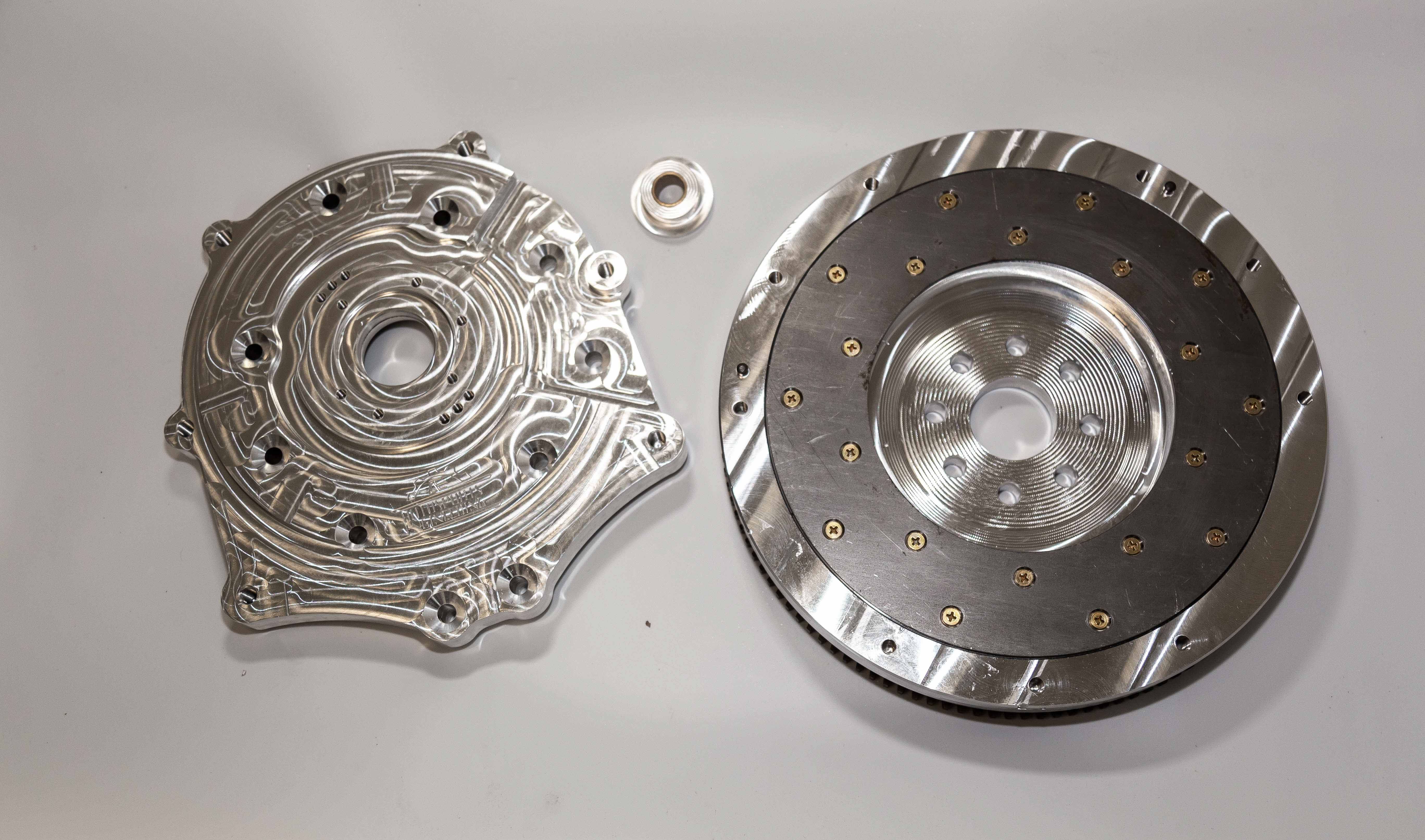 Autosports Engineering 2JZGTE 2JZ 1JZ 2JZGE Engine to 350Z CD009 6-speed  Transmission Adapter & Flywheel Combo