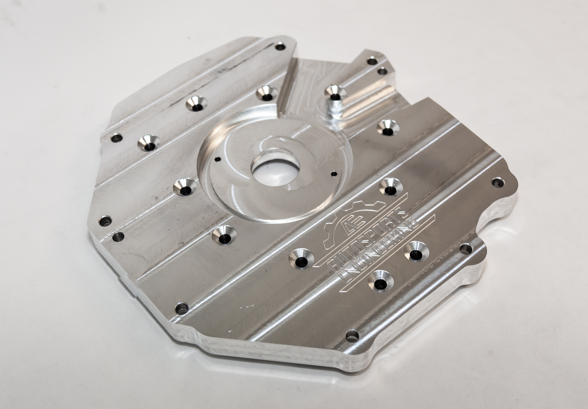 Autosports Engineering Billet Adapter Plate LSX LS1 to Nissan CD009 350Z  Transmission
