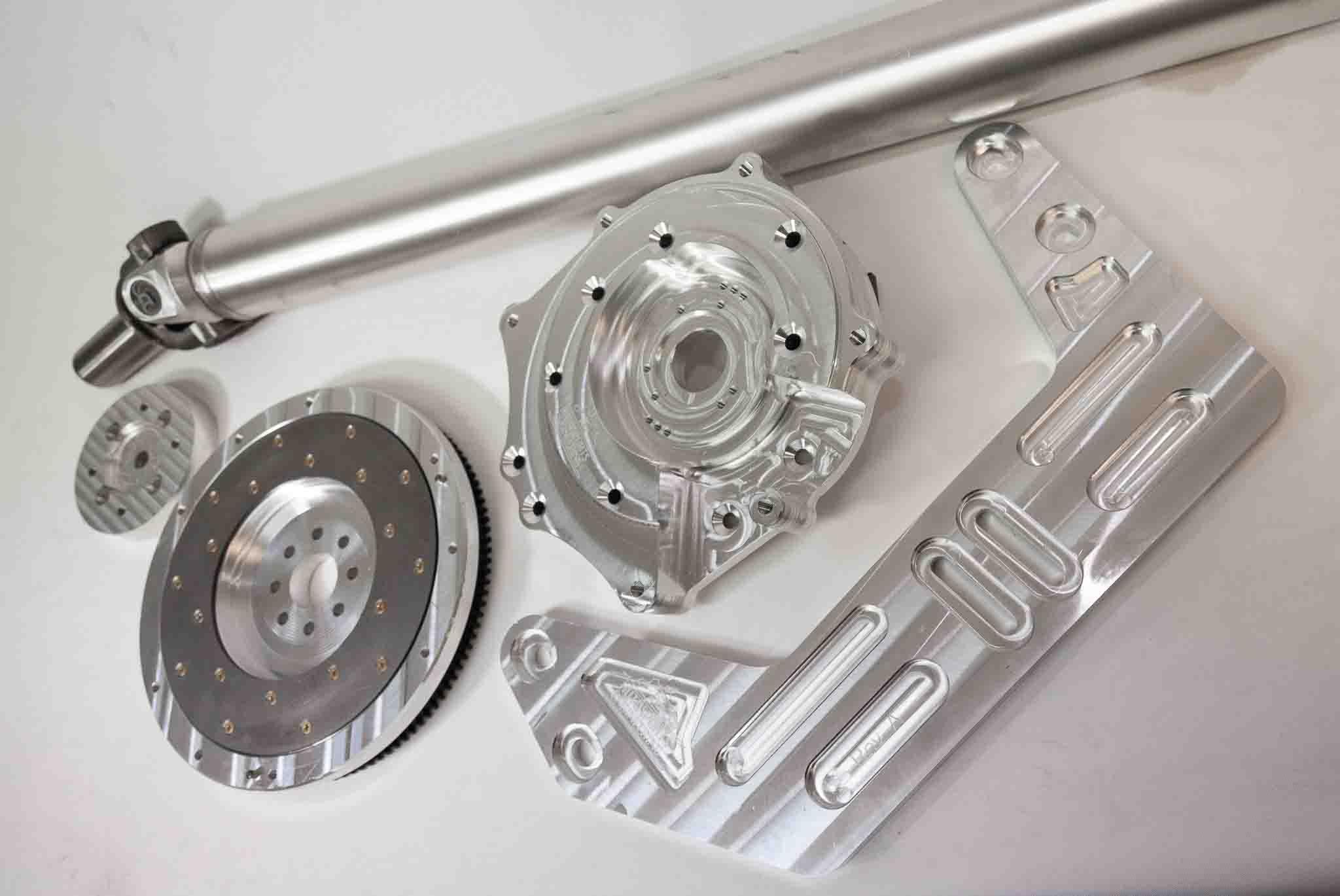 Autosports Engineering 2JZGTE 2JZ 1JZ 2JZGE Engine to 350Z CD009 6-speed  Transmission Adapter - Package