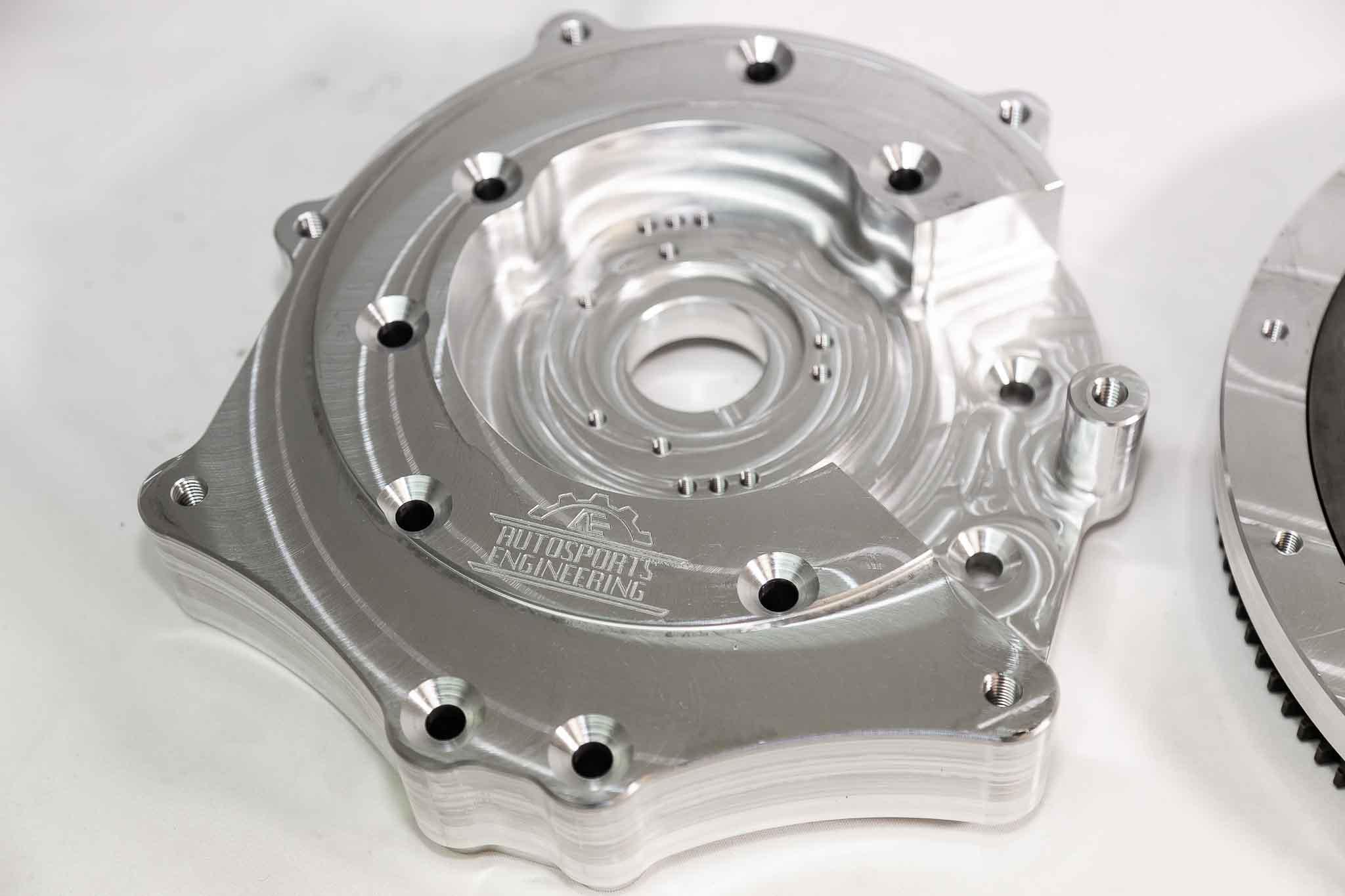 Autosports Engineering Supra MKIII 2JZGTE 2JZ 1JZ 2JZGE Engine to 350Z  CD009 Transmission Adapter - Package